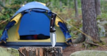 outdoor survival knife