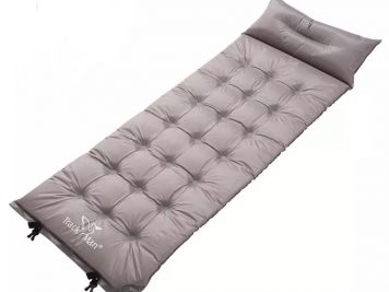 self inflating air mattress for survival